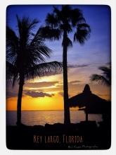 Sunset at Key Largo, Florida