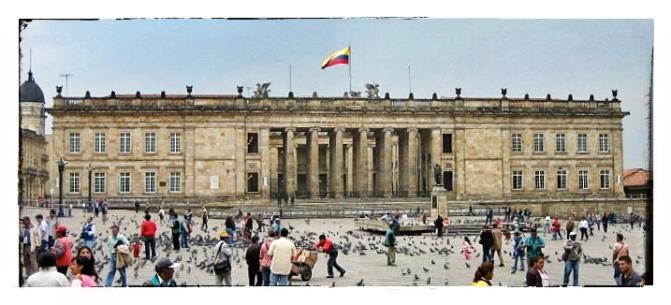 Plaza Bolivar, Bogotá, Colombia
