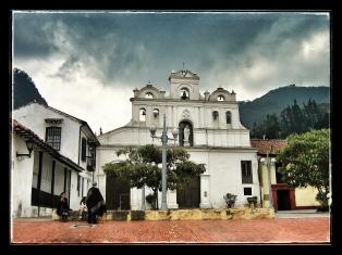 Iglesia de las Aguas (Nuestra Señora de las Aguas) Bogotá, Colombia.