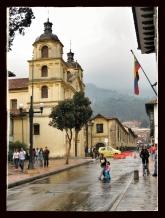 """La Candelaria"" Church Bogotá, Colombia."