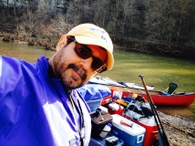 Ready to go home after two night at the river!