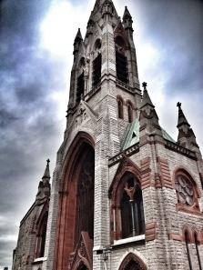 Dublin church, Ireland
