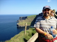 Me at Cliffs of Moher, Ireland.
