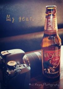 My gear, Canon DSLR - EOS T3i.