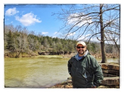 Me overlooking the Buffalo river, Arkansas.