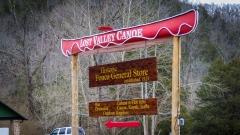 Lost Valley Canoe Outfitter, Ponka, Arkansas.