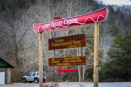 Lost Valley Canoe Outfitter, Ponka, Arkansas.