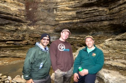 The team at Angel's Fall, Buffalo River, Arkansas.